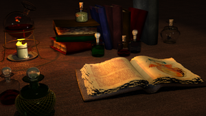The Table Of The Alchemist by MaxDaten