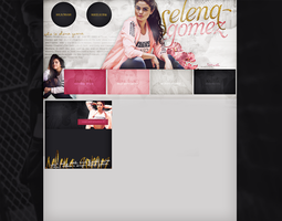 Free design with Selena Gomez by terushdesigns
