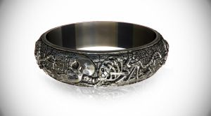 Death Metal Ring by Homagium