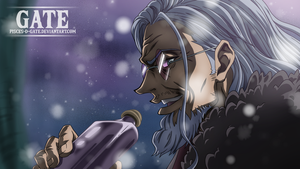 One Piece Scan 894 - Silver Rayleigh (Flashback) by Pisces-D-Gate