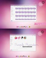 Purple Random theme for iconpackager by a-Rawring