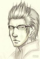 Ignis Sketch (FFXV) by Lilicia-Onechan