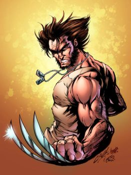 Wolverine Recolored by CdubbArt