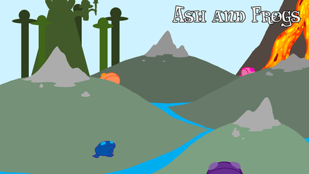 Ash and Frogs by AntipathicZora
