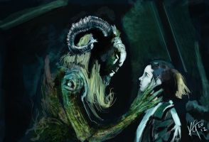 Pans labyrinth by KxG-WitcheR