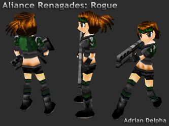 Alliance Renegades: Rogue by DelphaDesign