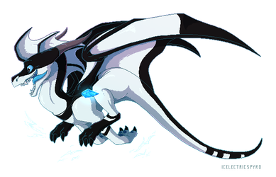 Pixel Clyde - commission by IcelectricSpyro