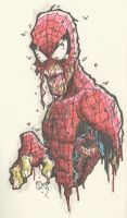 SPIDER-ZOMBIE by JUANPUIS