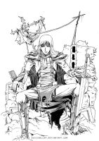 The knight in his trone by suicidollxp