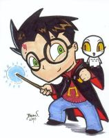 Chibi-Harry Potter 2. by hedbonstudios