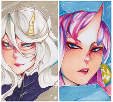 Horns by LadyCheck