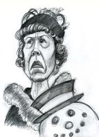 Mrs. Deagle from Gremlins by Caricature80