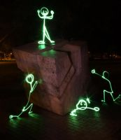 Light Graffiti - Champions by LightScribblers