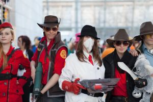 TF2 at the LBM 2013 by DrunkenFangschrecke
