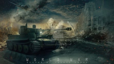 World war tanks by yonis1991