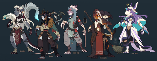 Witches adopts! [closed] by MOHNOT