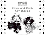 [FOR SALE] [TGG] Etihw + Kcalb 1.5 in. charms by Demonstarr13