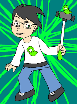 John Egbert by darlimondoll