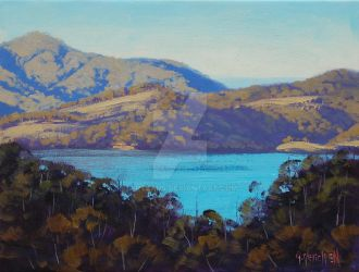 Afternoon Light Lake Lyell by artsaus