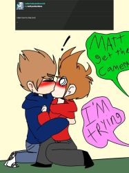 ask or dare eddsworld : TOMTORD by kattyanimations