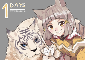 Xenoblade Chronicles 2 - Countdown - 1 day by Shadow2810