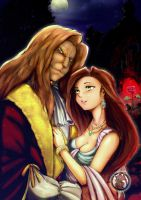 Request SiaraMing The Beauty and the Beast by Avamon