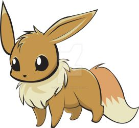 Eevee No.133 by GoldFoxTail