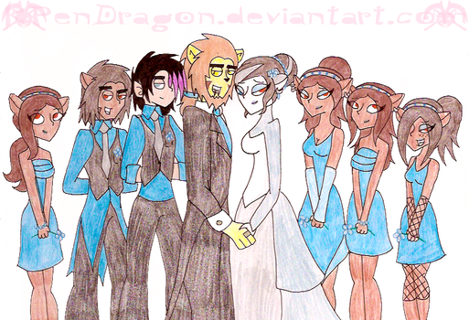 MH: The Bridal Party by KPenDragon