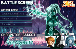 [GemsU] Meme Battle Screen by Seni-Ines