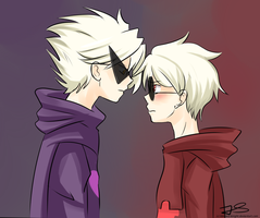 Dirk n Dave Strider by Timeless-Knight