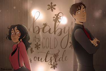 Baby it's cold outside by Mau-Acheron