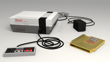 Nintendo Entertainment System by MeshWeaver