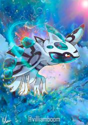 ICE AGE KYOGRE by villi-c