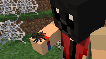 Are you my mommy? by KatieDoesMinecraft