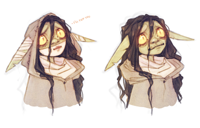 Nott the Brave - Critical Role - Goblin by Naimly