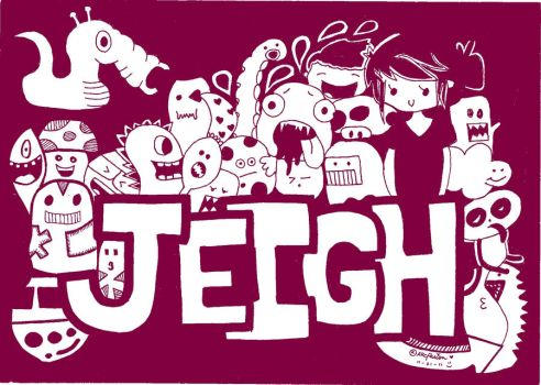 doodle:jeigh by andreakris