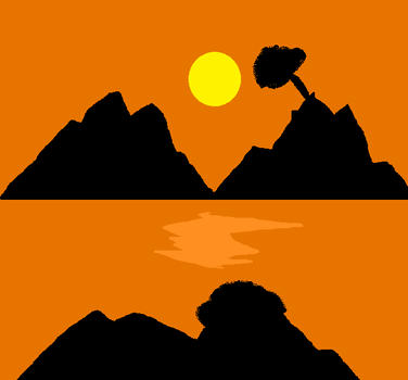 Mountain Sunset by letsplay21