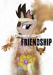 Pony Ops Friendship by Skeptic-Mousey