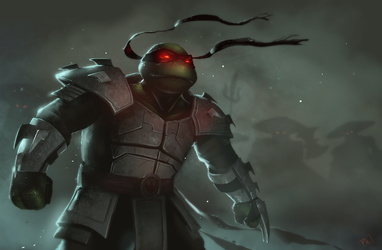 Nightmare Raphael by Phil-G-Ramsay