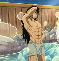 Gajeel - Bathtime by SupremeDarkQueen