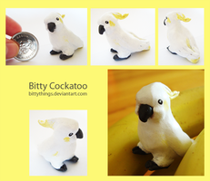 Bitty Cockatoo - SOLD by Bittythings