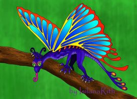 ButterflyDragon by IsilanaRith