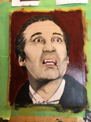 Christopher Lee Dracula by Colleen80