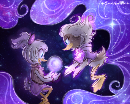!oh look a space bubble! by Snowballflo