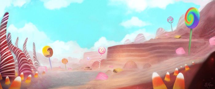 Candyland by artificialguy