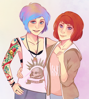Chloe and Max by missxdelaney