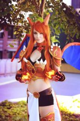 Charizard Gijinka by WhiteSpringPro