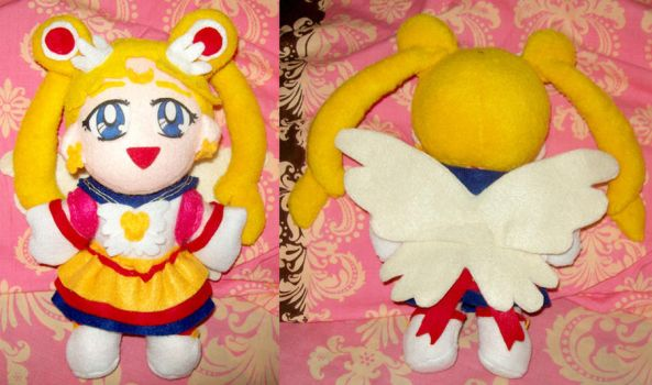 Eternal Sailor Moon plush by Chrisseh-chan