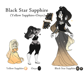 Black Star Sapphire by Points-for-Fritty