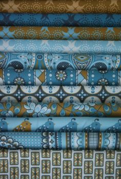 Quail Parade fabric collection by siya